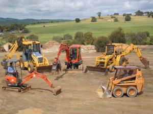 Barossa Gawler excavators and bob cats