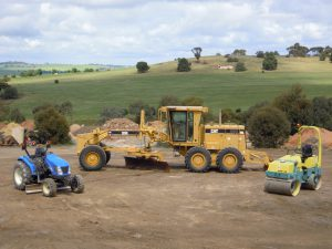 Total Earthworx excavators and rollers