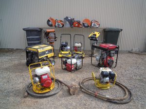 generators and grinders for hire
