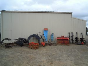 Total Earthworks excavation equipment